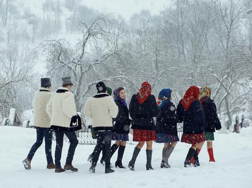 Iarna în Maramureș, în cele mai frumoase fotografii